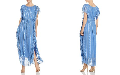 Saylor Ruffled Metallic-Print Maxi Dress - Bloomingdale's_2