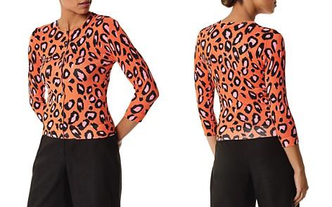 KAREN MILLEN Leopard Print Cardigan - Bloomingdale's_2