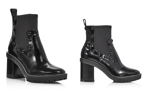 Tory Burch Women's Preston Round-Toe Studded High-Heel Leather Boots - Bloomingdale's_2
