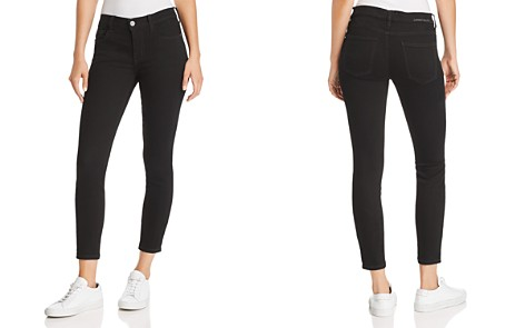 Current/Elliott The Stiletto Cropped Skinny Jeans in 0 Clean Stretch Black - Bloomingdale's_2