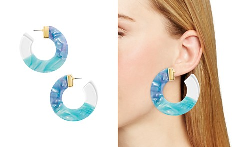 BAUBLEBAR Dessa Multicolor Resin Hoop Earrings - Bloomingdale's_2