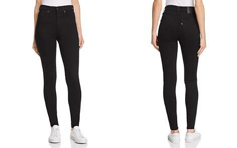 Levi's Mile High Super Skinny Jeans in Black Galaxy - Bloomingdale's_2