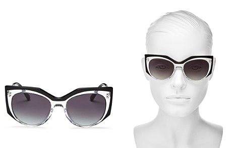 Valentino Women's Cat Eye Sunglasses, 53mm - Bloomingdale's_2