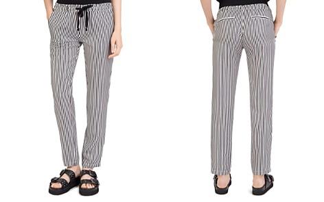 The Kooples Striped Silk Drawstring Pants - Bloomingdale's_2