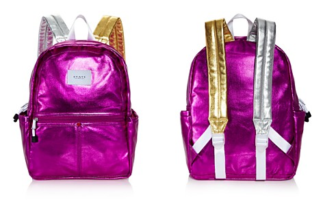 STATE Kane Metallic Backpack - Bloomingdale's_2