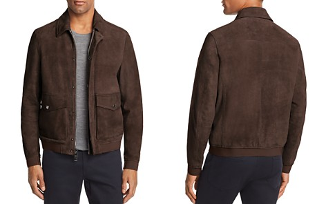 Michael Kors Suede Bomber - 100% Exclusive - Bloomingdale's_2