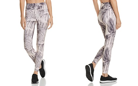 Spiritual Gangster Perfect High-Waist Palm Print Leggings - Bloomingdale's_2