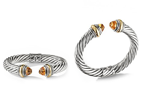 David Yurman Cable Classics Bracelet with Citrine and 14K Gold, 10mm - Bloomingdale's_2