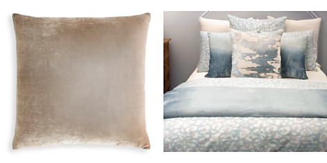 "Kevin O'Brien Studio Dip Dye Silk Velvet Decorative Pillow, 26"" x 26"" - Bloomingdale's_2"