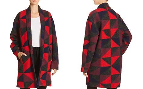 Joie Halona Geo Print Coat - Bloomingdale's_2