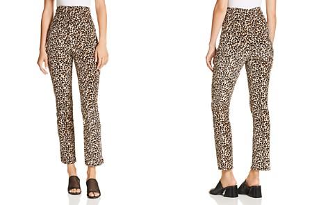 Rebecca Taylor Leopard-Printed Velour Pants - Bloomingdale's_2