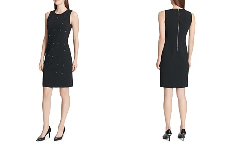 Calvin Klein Embellished Sheath Dress - Bloomingdale's_2