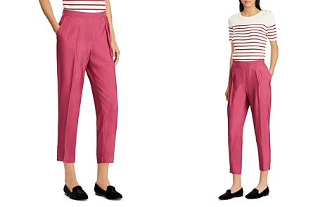 Lauren Ralph Lauren Cropped Twill Pants - Bloomingdale's_2