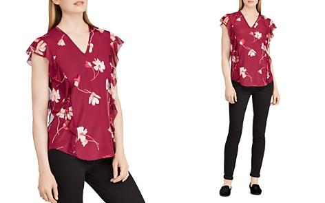 Lauren Ralph Lauren Floral Crepe Top - Bloomingdale's_2