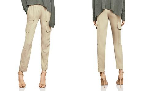 BCBGMAXAZRIA Paperbag-Waist Utility Pants - Bloomingdale's_2
