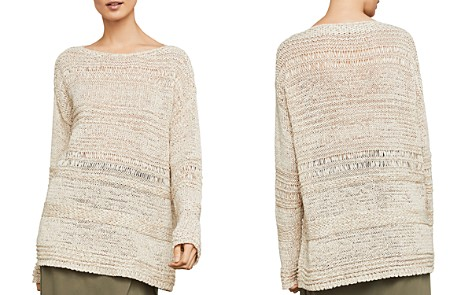 BCBGMAXAZRIA Mixed-Stitch Sweater - Bloomingdale's_2