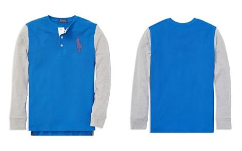 Polo Ralph Lauren Boys' Big Pony Cotton Henley Shirt - Big Kid - Bloomingdale's_2
