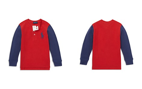 Polo Ralph Lauren Boys' Big Pony Henley Shirt - Little Kid - Bloomingdale's_2
