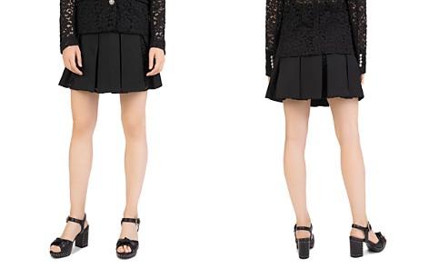 The Kooples Pleated Mini Skirt - Bloomingdale's_2