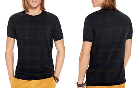 Scotch & Soda Oil Washed Plaid Tee - Bloomingdale's_2