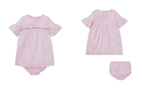 Ralph Lauren Girls' Embroidered Dress & Bloomers Set - Baby - Bloomingdale's_2