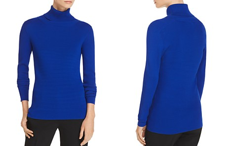 Tory Burch Ribbed Turtleneck Sweater - Bloomingdale's_2