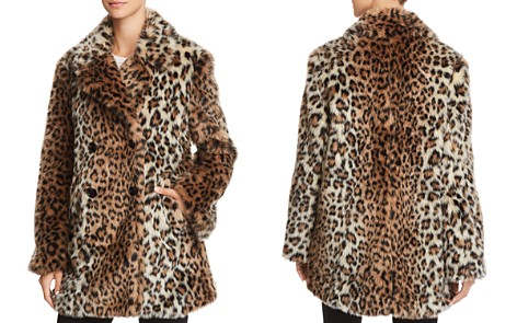 Joie Tiaret Leopard-Printed Faux Fur Coat - Bloomingdale's_2