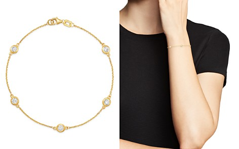 Bloomingdale's Diamond Station Bracelet in 14K Yellow Gold, 0.70 ct. t.w. - 100% Exclusive_2