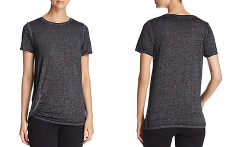 Marc New York Performance Short-Sleeve Ruched Tee - Bloomingdale's_2
