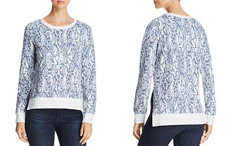 Marc New York Performance Snake-Print Cotton Sweatshirt - Bloomingdale's_2