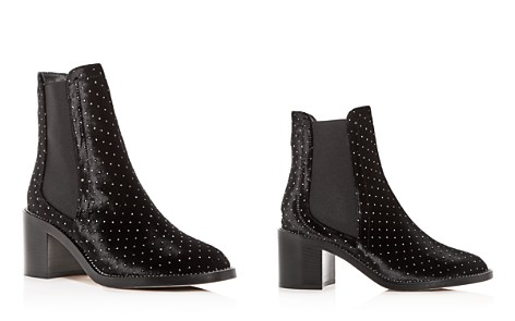 Jimmy Choo Women's Merril Studded Velvet Booties - Bloomingdale's_2