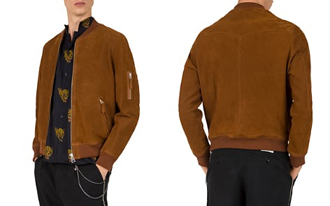 The Kooples Mobra Suede Bomber Jacket - Bloomingdale's_2