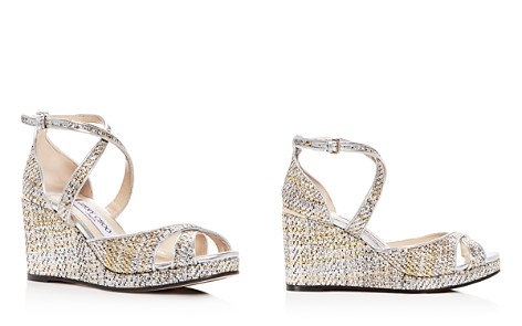 Jimmy Choo Women's Alanah 80 Woven Leather Platform Wedge Sandals - Bloomingdale's_2