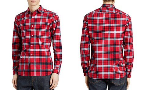 Burberry Alexander Plaid Regular Fit Shirt - Bloomingdale's_2