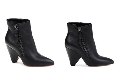 Splendid Women's Neva Pointed Toe Leather Mid-Heel Booties - Bloomingdale's_2