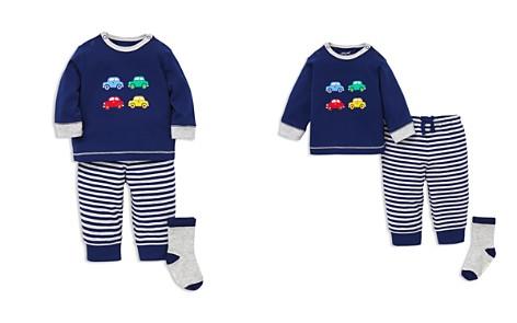 Little Me Boys' Car Tee & Jogger Pants Set with Socks - Baby - Bloomingdale's_2