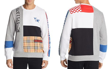 Burberry Girnley Patchwork Sweatshirt - Bloomingdale's_2