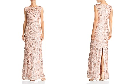Adrianna Papell Sequin Embellished Gown - Bloomingdale's_2