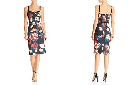 Black Halo Daria Floral Dress - 100% Exclusive - Bloomingdale's_2