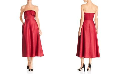 SAU LEE Viola Strapless Shimmer Dress - Bloomingdale's_2