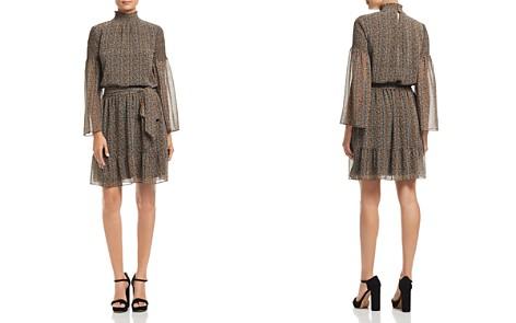 MICHAEL Michael Kors Printed Mock Neck Dress - 100% Exclusive - Bloomingdale's_2