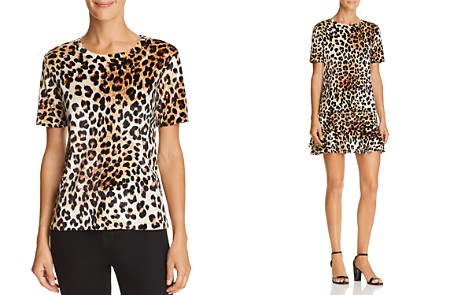 AQUA Leopard Print Velvet Tee - 100% Exclusive - Bloomingdale's_2