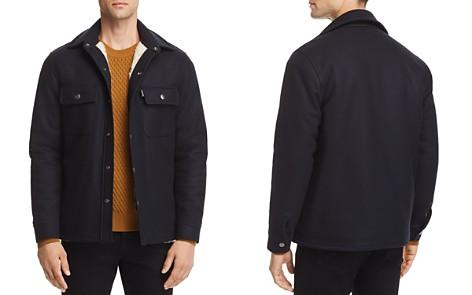 SANDRO Navy Lumber Jacket - 100% Exclusive - Bloomingdale's_2
