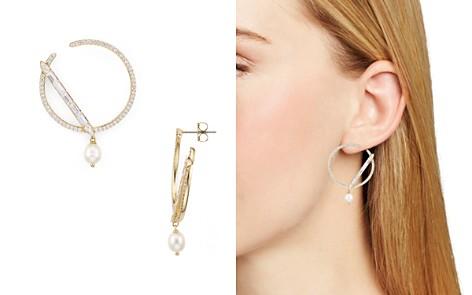 Nadri Josephine Cultured Freshwater Pearl Secant Loop Drop Earrings - Bloomingdale's_2