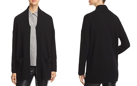 Lafayette 148 New York Cashmere Zip-Front Cardigan - Bloomingdale's_2