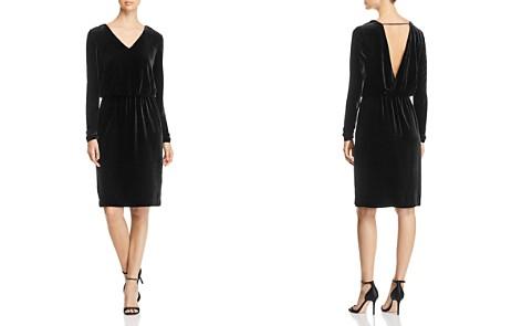 Lafayette 148 New York Josefina Velvet Blouson Dress - Bloomingdale's_2