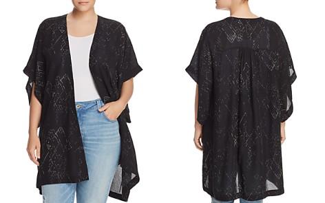 Eileen Fisher Plus Printed Kimono - Bloomingdale's_2