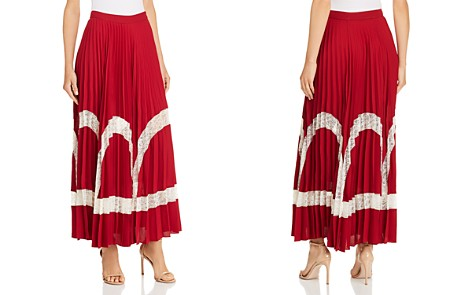 Elizabeth and James Regina Lace-Inset Maxi Skirt - Bloomingdale's_2