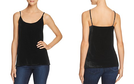 7 For All Mankind Velour Camisole Top - Bloomingdale's_2