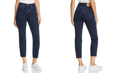 Levi's Wedgie Icon Fit Tapered Jeans in Intergalactic - Bloomingdale's_2